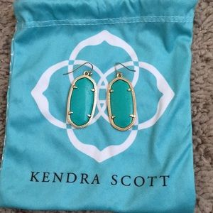 Kendra Scott jade earrings